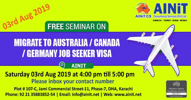 Student Visa Information - AINiT